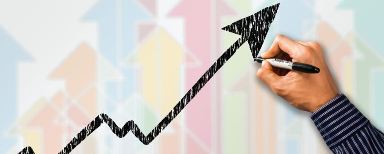 Managed IT Services can be the key to your business success   graph showing business growth